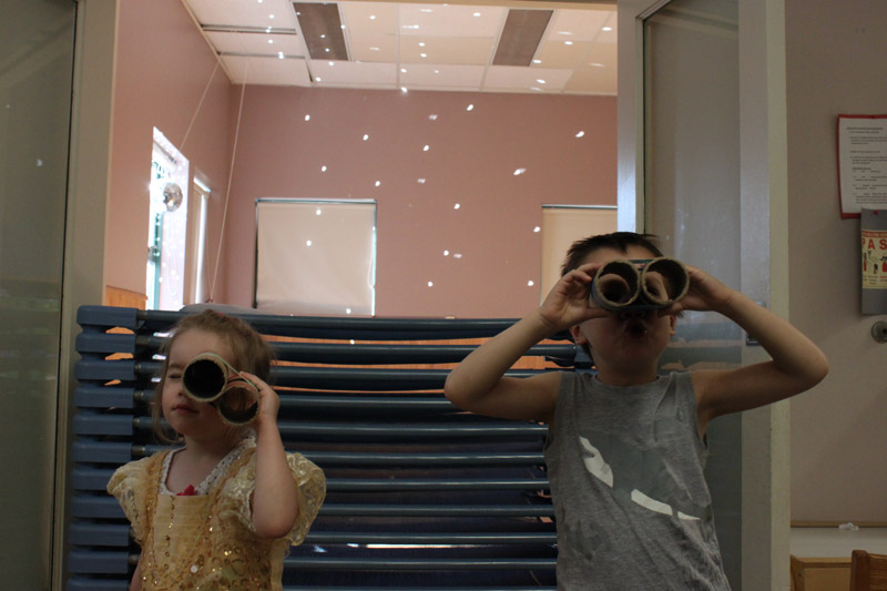 Part science, part magic: Witnessing the solar eclipse at our House