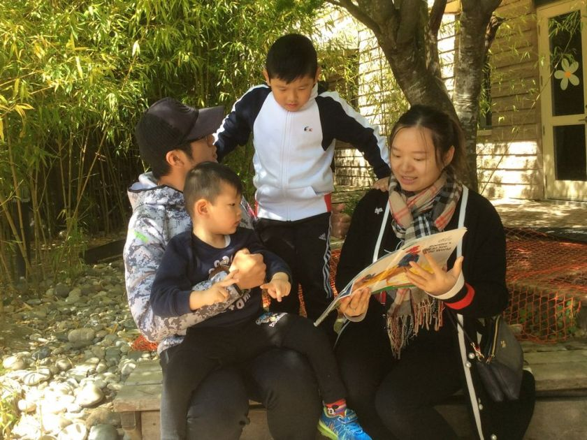 Raise-a-Reader: Couple from China get parenting respite along with English classes