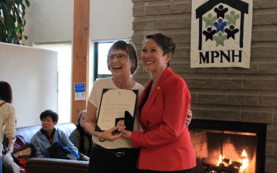 Our House's Morie Ford is awarded 2019's Council for the Federation Literacy Award in BC