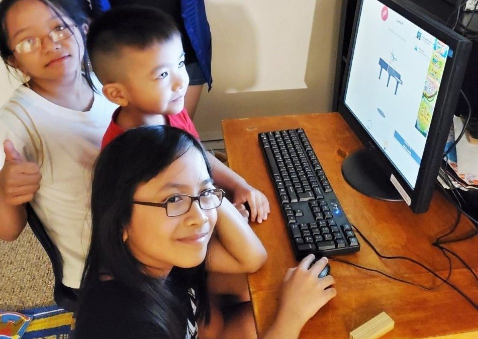 How a donated computer made a world of difference to this newcomer family